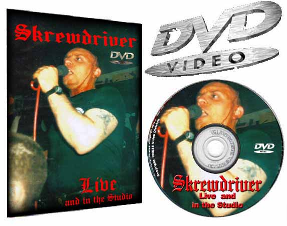 Skrewdriver Live & in the Studio